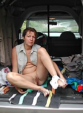 Mature Ladies Naked Outdoor