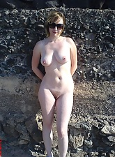 Naked girls showing their tits