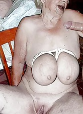 Non-professional granny porn