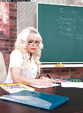 Lady-love a catch teacher!